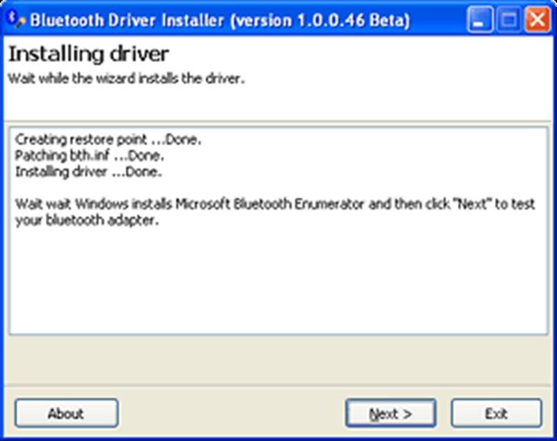 윈도우10 블루투스 드라이버 설치화면 3