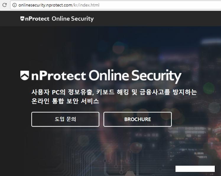 [사진 = nProtect Online Security 설치 및 삭제 방법(C)]